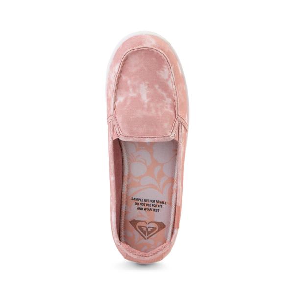 alternate view Womens Roxy Minnow Slip On Casual Shoe - BlushALT2