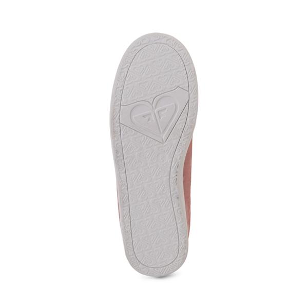alternate view Womens Roxy Minnow Slip On Casual Shoe - BlushALT3