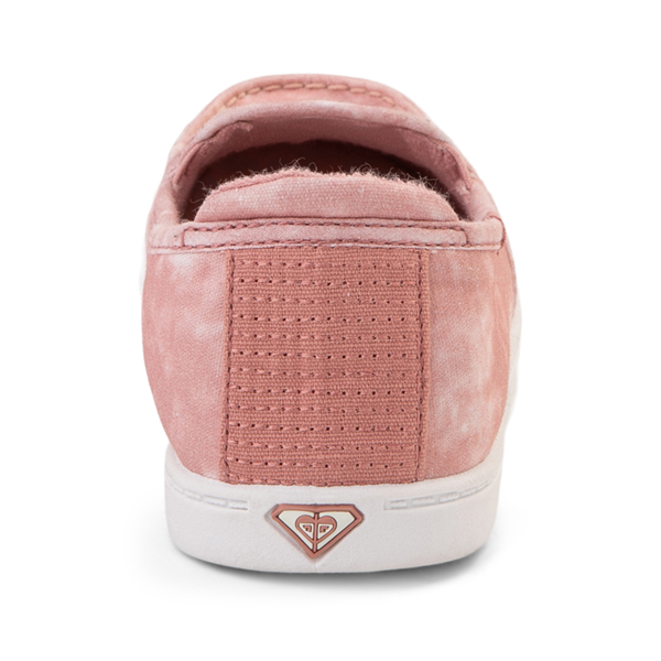 alternate view Womens Roxy Minnow Slip On Casual Shoe - BlushALT4