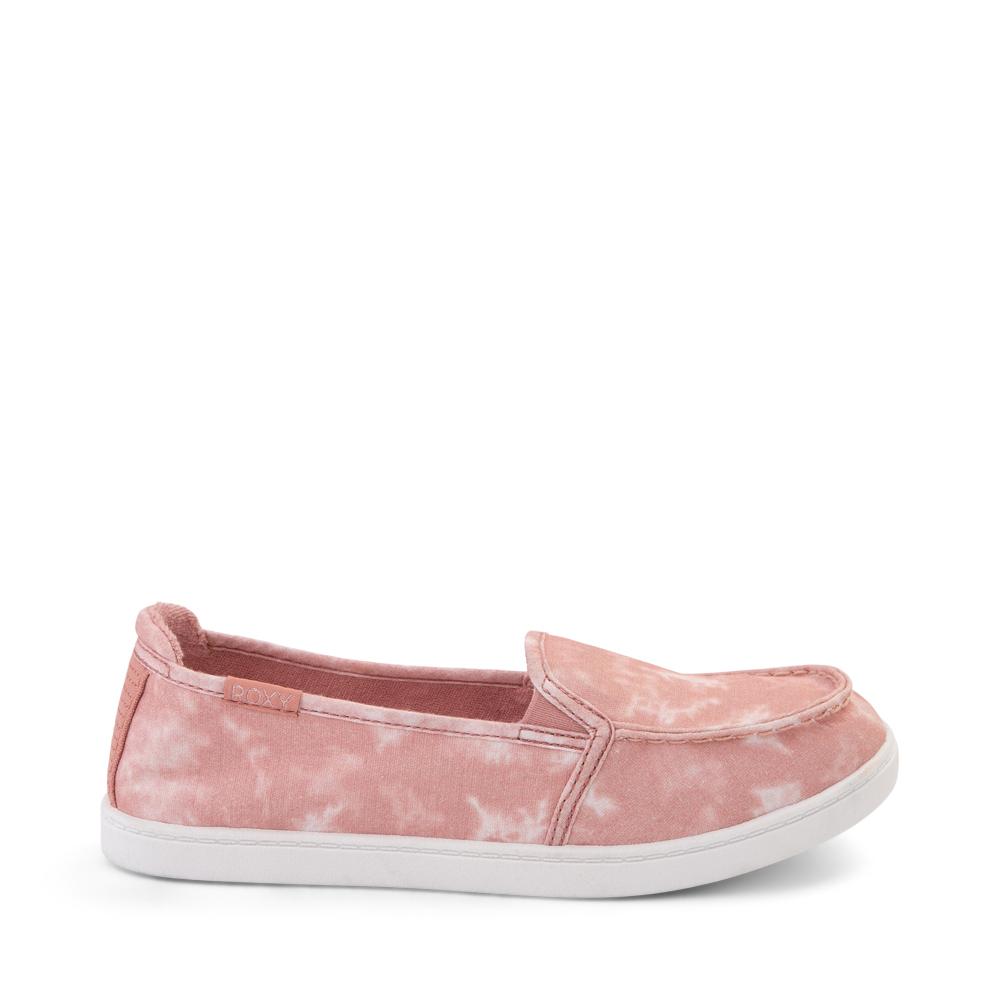 Womens Roxy Minnow Slip On Casual Shoe - Blush