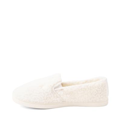 Alternate view of Womens Roxy Fur Sure Slip On Casual Shoe - Cream