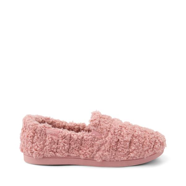 Main view of Womens Roxy Fur Sure Slip On Casual Shoe - Blush