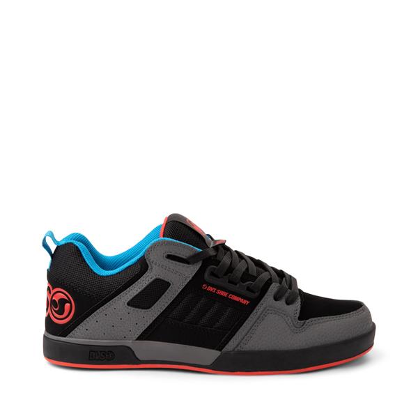 Main view of Mens DVS Comanche 2.0+ Skate Shoe - Charcoal / Black