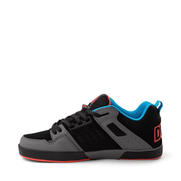 alternate view Mens DVS Comanche 2.0+ Skate Shoe - Charcoal / BlackALT1