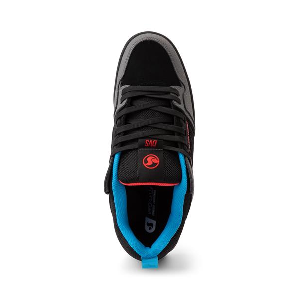 alternate view Mens DVS Comanche 2.0+ Skate Shoe - Charcoal / BlackALT2