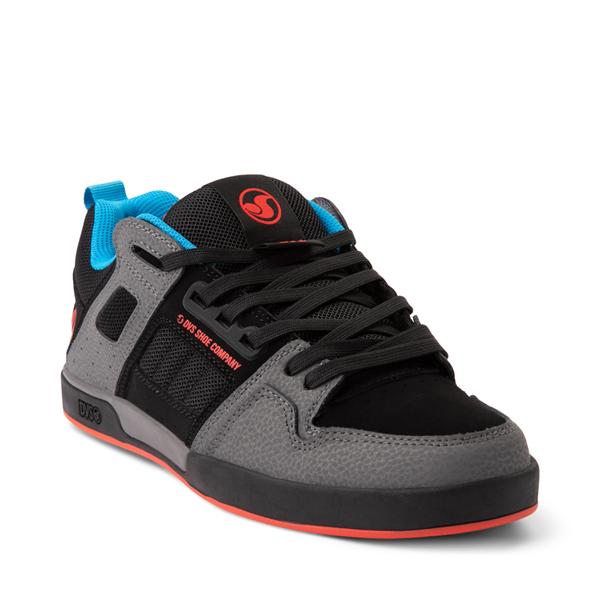 alternate view Mens DVS Comanche 2.0+ Skate Shoe - Charcoal / BlackALT5