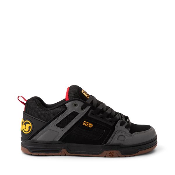 Main view of Mens DVS Comanche Skate Shoe - Black / Charcoal / Gum