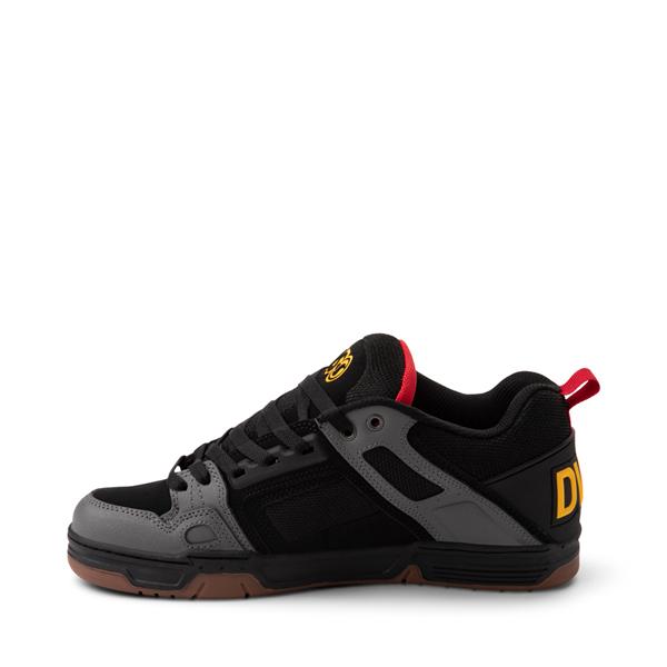 alternate view Mens DVS Comanche Skate Shoe - Black / Charcoal / GumALT1