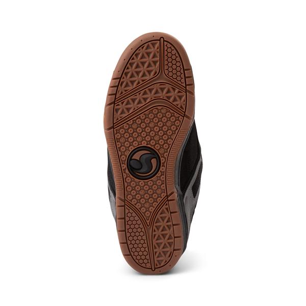 alternate view Mens DVS Comanche Skate Shoe - Black / Charcoal / GumALT3
