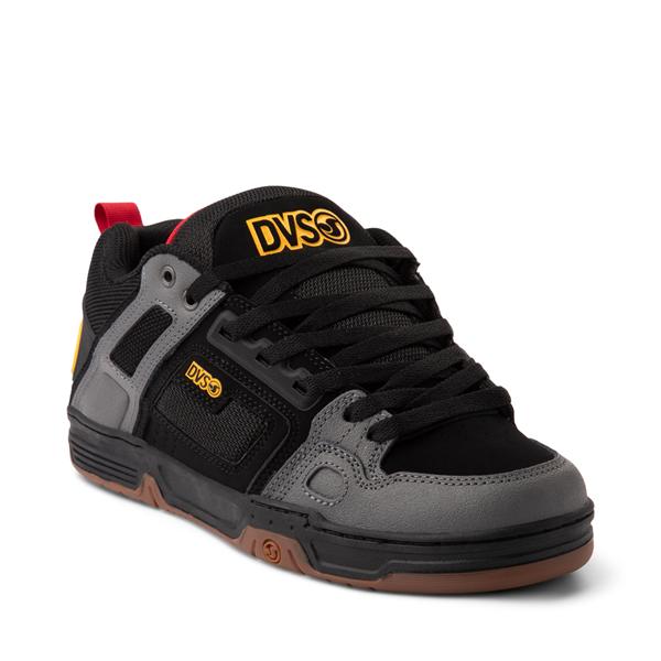 alternate view Mens DVS Comanche Skate Shoe - Black / Charcoal / GumALT5