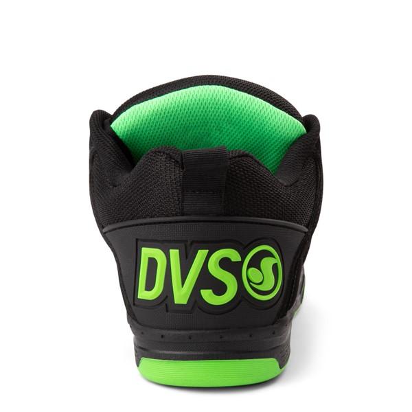 alternate view Mens DVS Comanche Skate Shoe - Black / Charcoal / LimeALT4