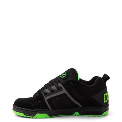 Alternate view of Mens DVS Comanche Skate Shoe - Black / Charcoal / Lime