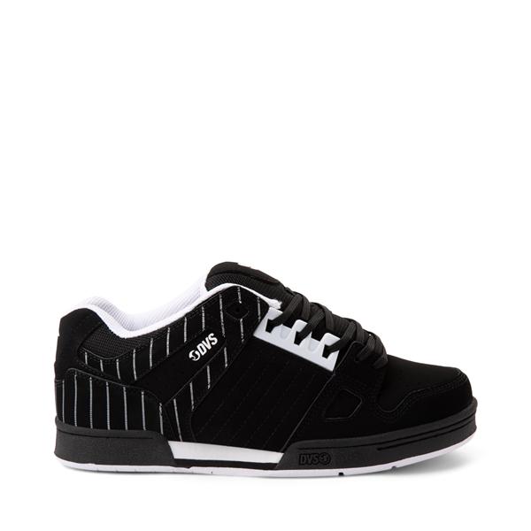 Main view of Mens DVS Celsius Skate Shoe - Black / Stripes