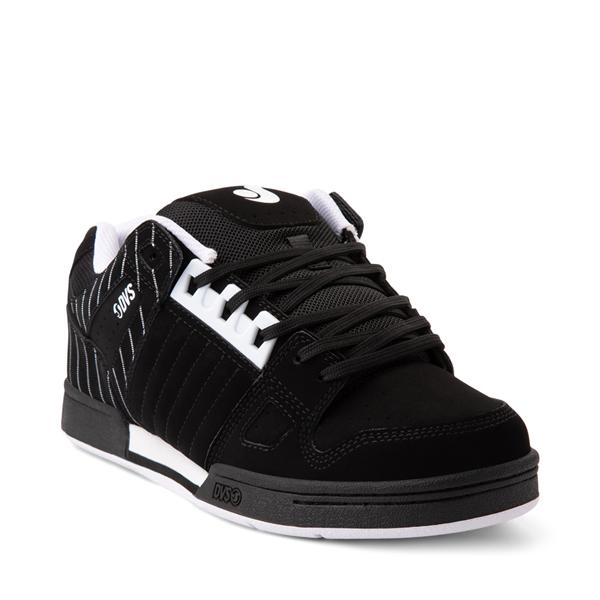 alternate view Mens DVS Celsius Skate Shoe - Black / StripesALT5