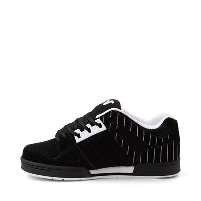 Alternate view of Mens DVS Celsius Skate Shoe - Black / Stripes