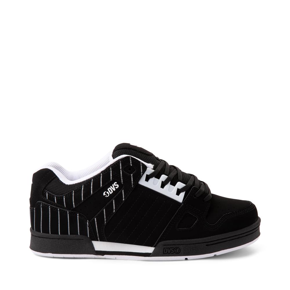 Mens DVS Celsius Skate Shoe - Black / Stripes