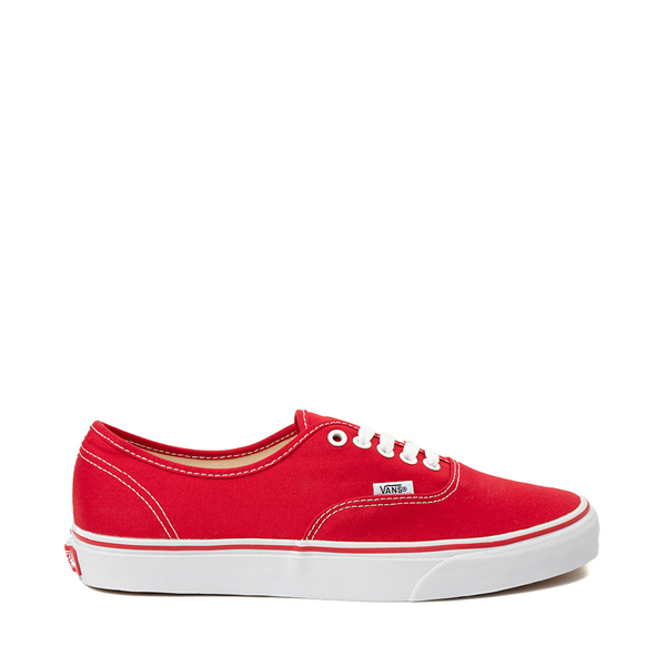 Main view of Vans Authentic Skate Shoe - Red