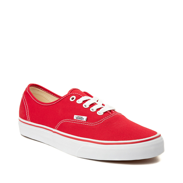 alternate view Vans Authentic Skate Shoe - Red / WhiteALT5