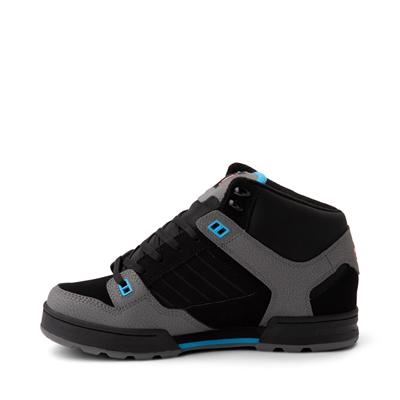 Alternate view of Mens DVS Militia Boot Skate Shoe - Black / Fiery Red / Blue