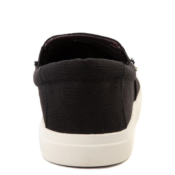 alternate view Mens Sanuk Sideline Hemp Casual Shoe - BlackALT4