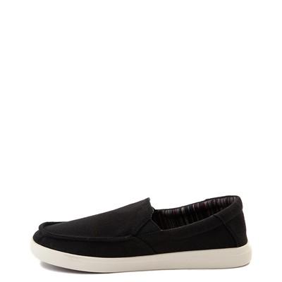 Alternate view of Mens Sanuk Sideline Hemp Casual Shoe - Black