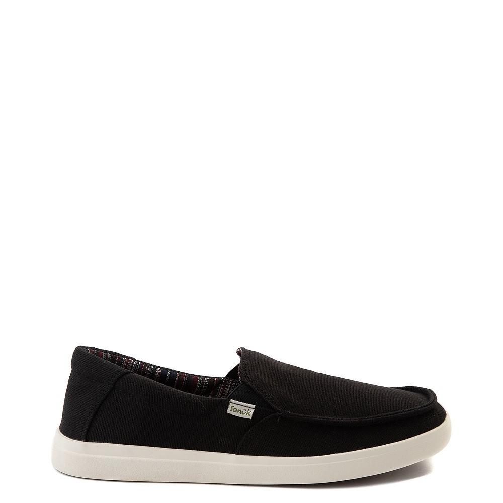 Mens Sanuk Sideline Hemp Casual Shoe - Black