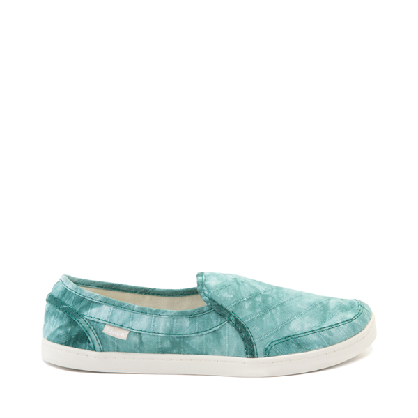 Main view of Womens Sanuk Pair O Dice Slip On Casual Shoe - Real Teal