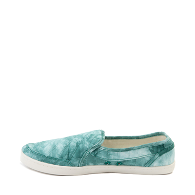 Alternate view of Womens Sanuk Pair O Dice Slip On Casual Shoe - Real Teal