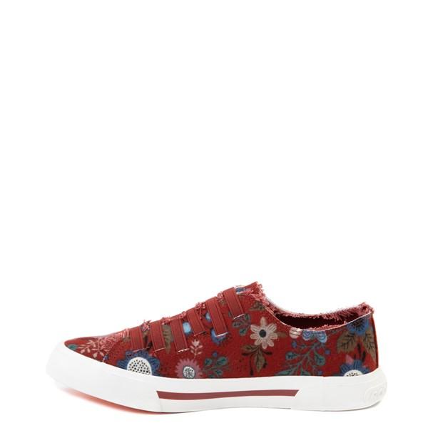 alternate view Womens Rocket Dog Jokes Slip On Sneaker - Red / FloralALT1
