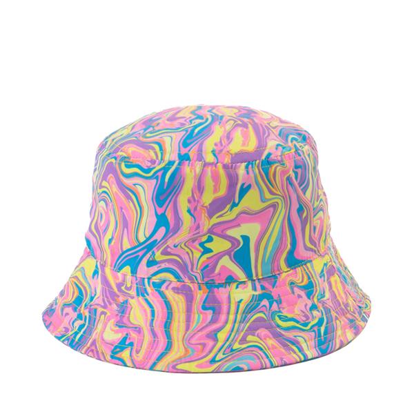alternate view Paint Swirl Bucket Hat - Little Kid / Big Kid - MulticolorALT1