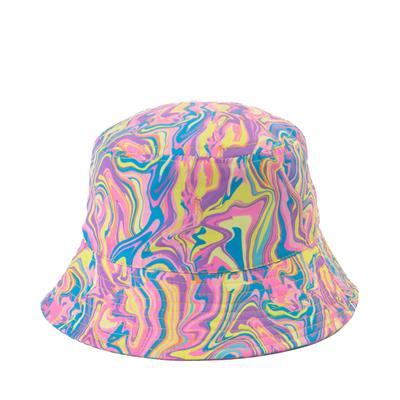 Alternate view of Paint Swirl Bucket Hat - Little Kid / Big Kid - Multicolor