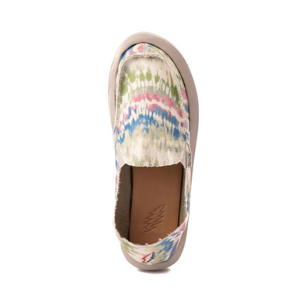 alternate view Womens Sanuk x Grateful Dead Donna ST Slip On Casual Shoe - Tie DyeALT2