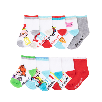 Alternate view of Cocomelon Footies 10 Pack - Toddler - White