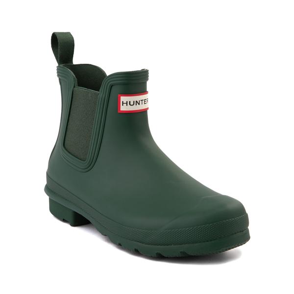 alternate view Womens Hunter Original Chelsea Rain Boot - Hunter GreenALT5