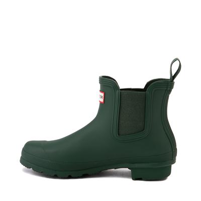Alternate view of Womens Hunter Original Chelsea Rain Boot - Hunter Green