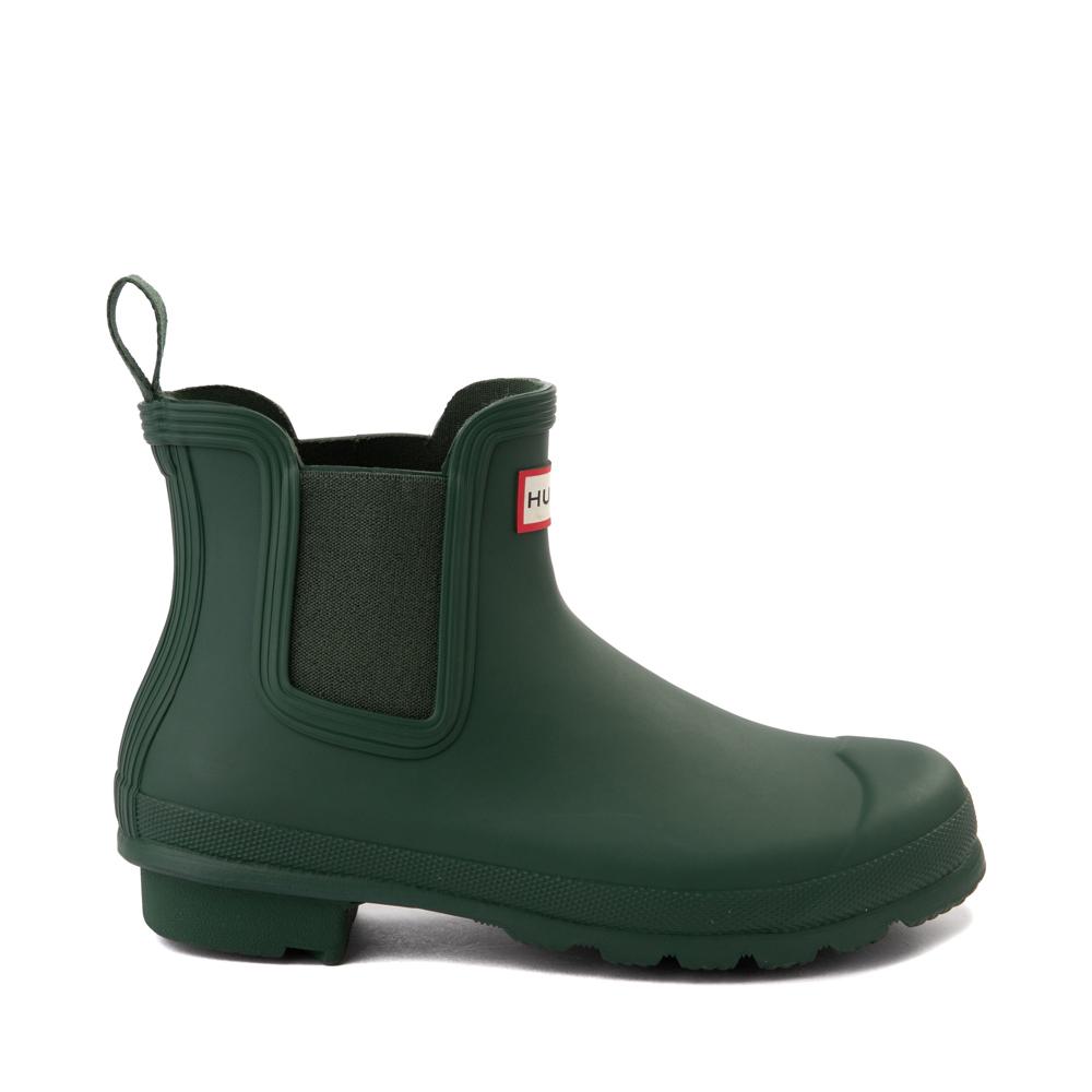 Womens Hunter Original Chelsea Rain Boot - Hunter Green