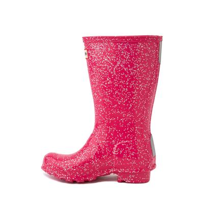 Alternate view of Hunter Original Tall Giant Glitter Rain Boot - Little Kid / Big Kid - Thrift Pink