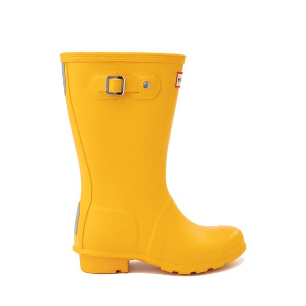 Main view of Hunter Original Tall Rain Boot - Little Kid / Big Kid - Yellow