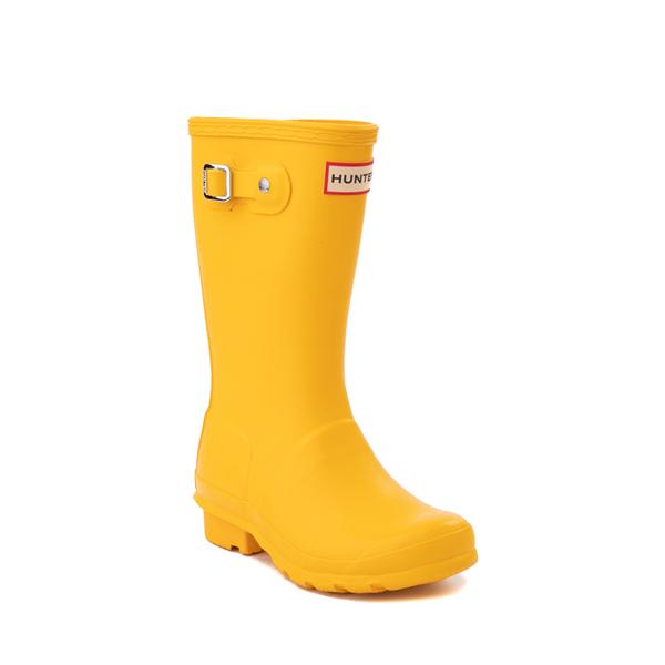 alternate view Hunter Original Tall Rain Boot - Little Kid / Big Kid - YellowALT5