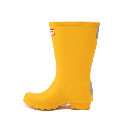 Alternate view of Hunter Original Tall Rain Boot - Little Kid / Big Kid - Yellow