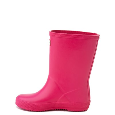 Alternate view of Hunter Original Kids First Classic Rain Boot - Toddler / Little Kid - Bright Pink