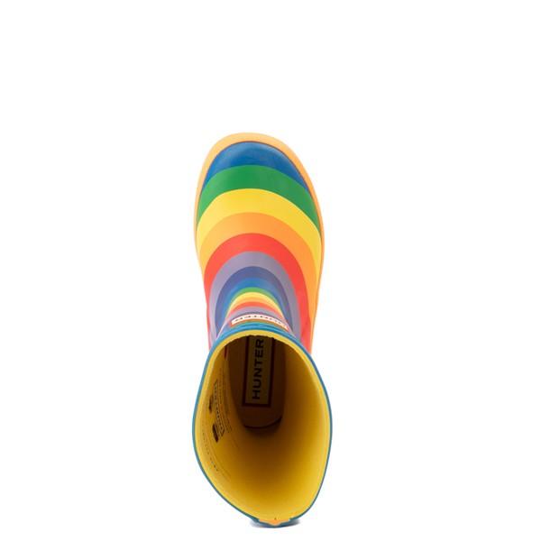 alternate view Hunter Original Kids First Classic Rain Boot - Toddler / Little Kid - RainbowALT2