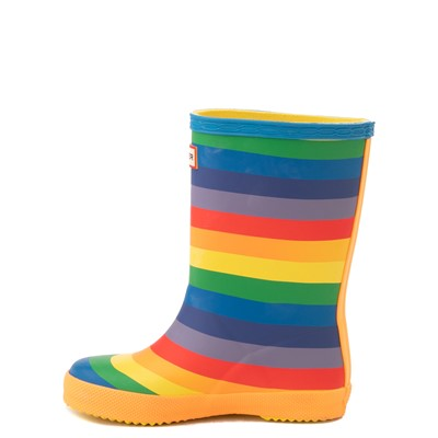 Alternate view of Hunter Original Kids First Classic Rain Boot - Toddler / Little Kid - Rainbow