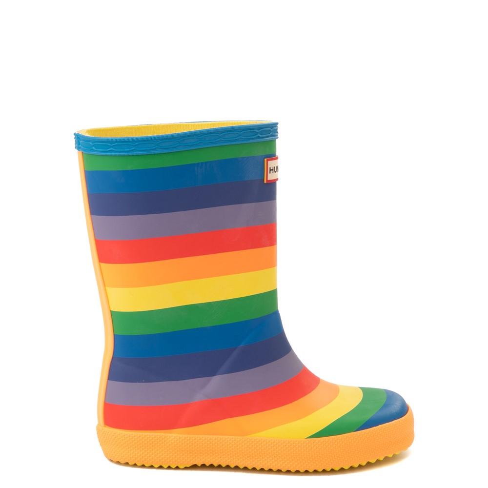 Hunter Original Kids First Classic Rain Boot - Toddler / Little Kid - Rainbow