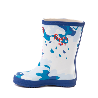 Alternate view of Hunter x Peppa Pig Kids First Muddy Puddles Rain Boot - Toddler / Little Kid - Dragonfly Blue
