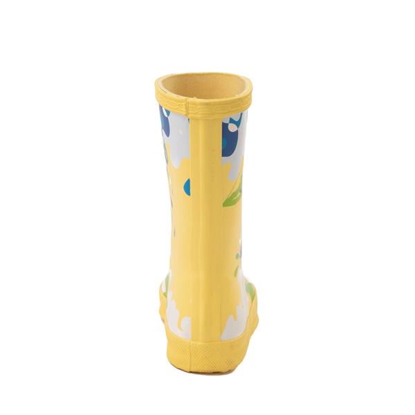 alternate view Hunter x Peppa Pig Kids First Muddy Puddles Rain Boot - Toddler / Little Kid - Yarrow YellowALT4