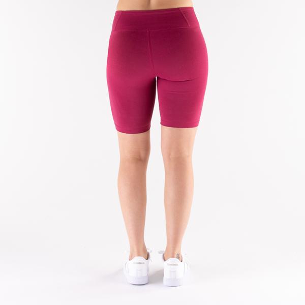 alternate view Womens Reebok Identity Fitted Shorts - Punch BerryALT2
