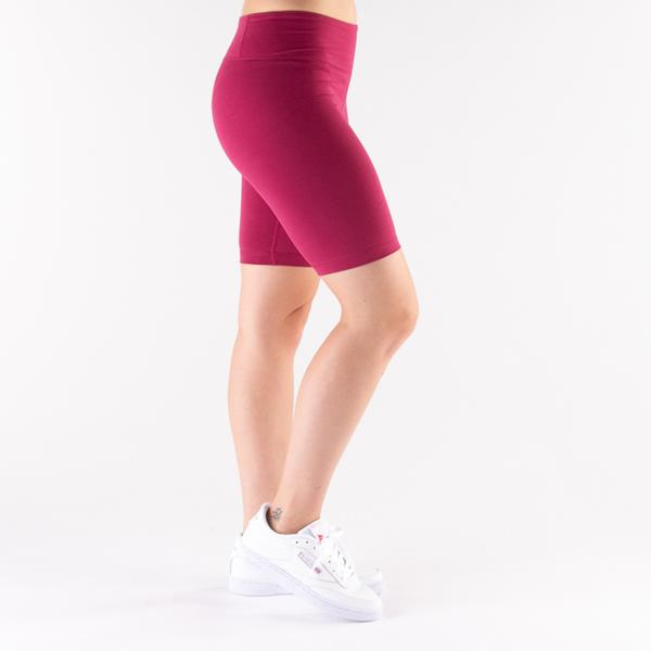 alternate view Womens Reebok Identity Fitted Shorts - Punch BerryALT3
