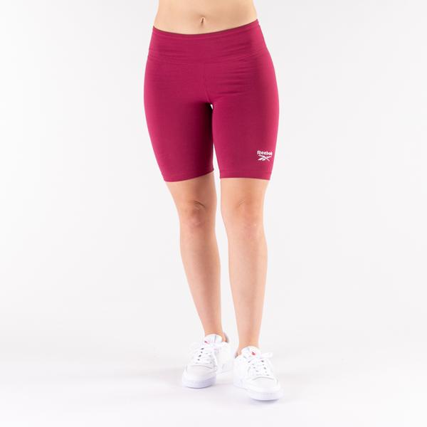 alternate view Womens Reebok Identity Fitted Shorts - Punch BerryALT4