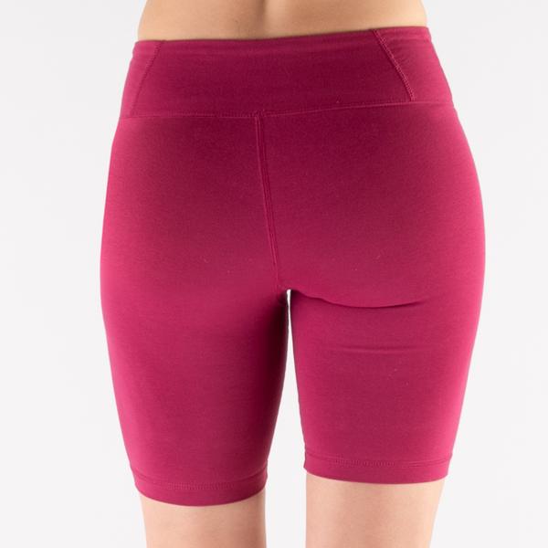 alternate view Womens Reebok Identity Fitted Shorts - Punch BerryALT5B